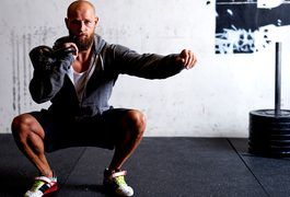 """Use kettlebells to lose fat and gain muscle. According to fitness expert and kettlebells instructor Vanessa Bader, """"Kettlebells give you a full body workout--strengthening, toning and mobilizing your body bilaterally."""" Training with kettlebells changes your body composition by decreasing fat and increasing muscle tone, thus improving..."""