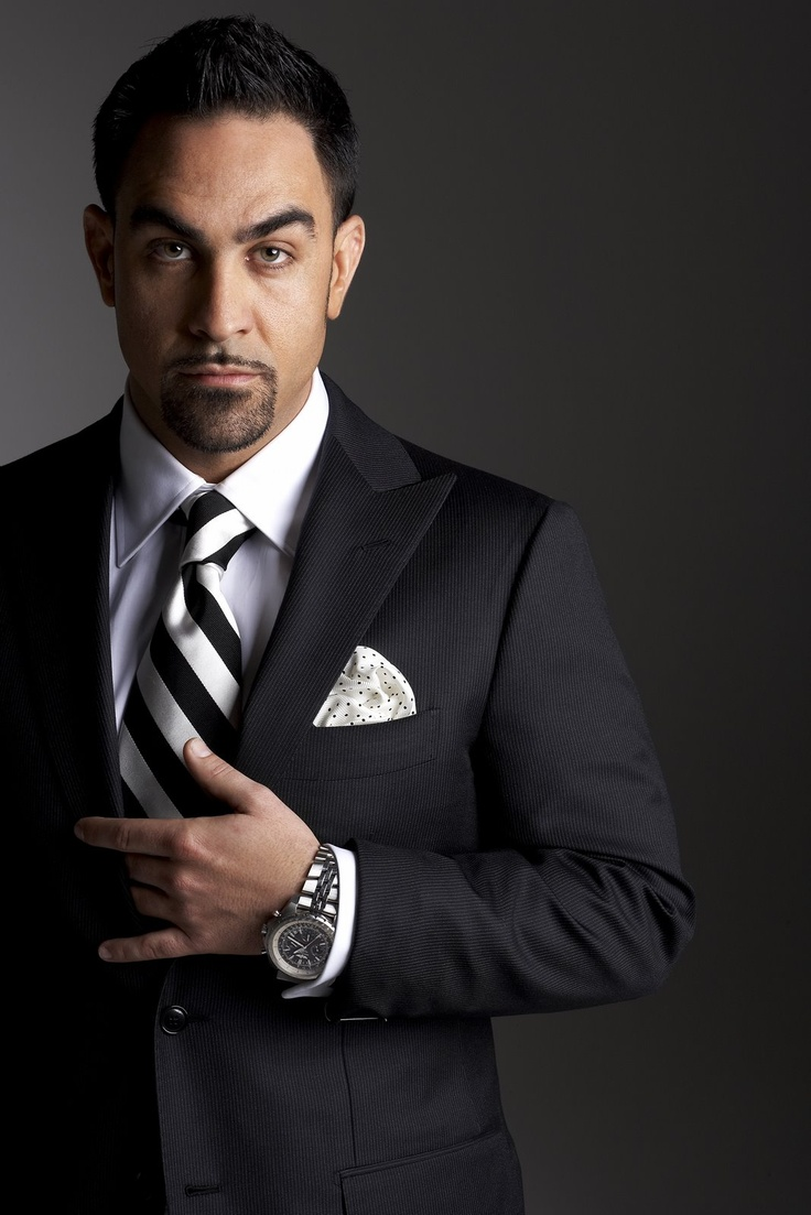 Chris Nunez....and you know what's under the suit...