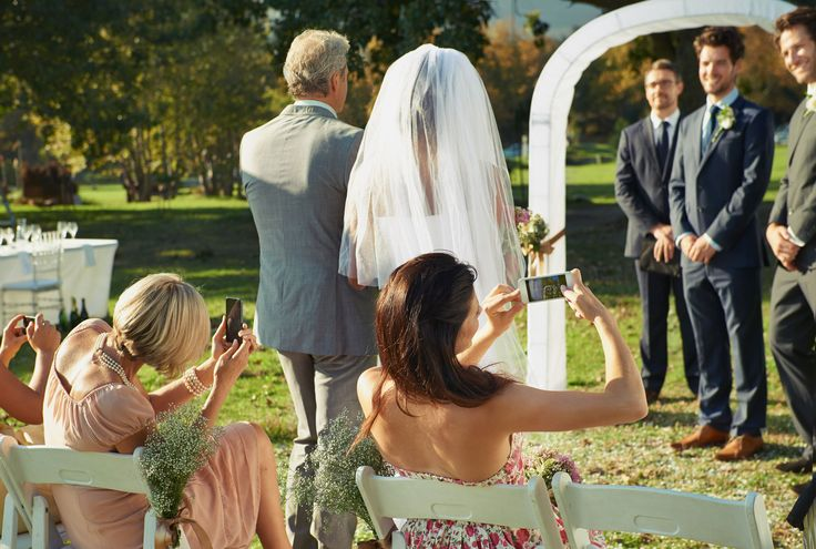 The Modern Day Dilemma: Smartphones at Weddings / ON THE BLOG