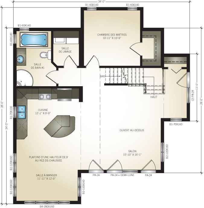 Plan De Maison Pro Fab Ventana Blog