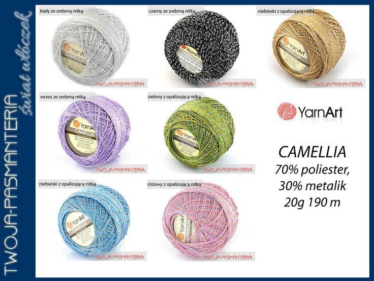 Kordonek dekoracyjny Camellia YarnArt 20 gr-190 m