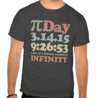 Vintage Pi Day 2015 T Shirt