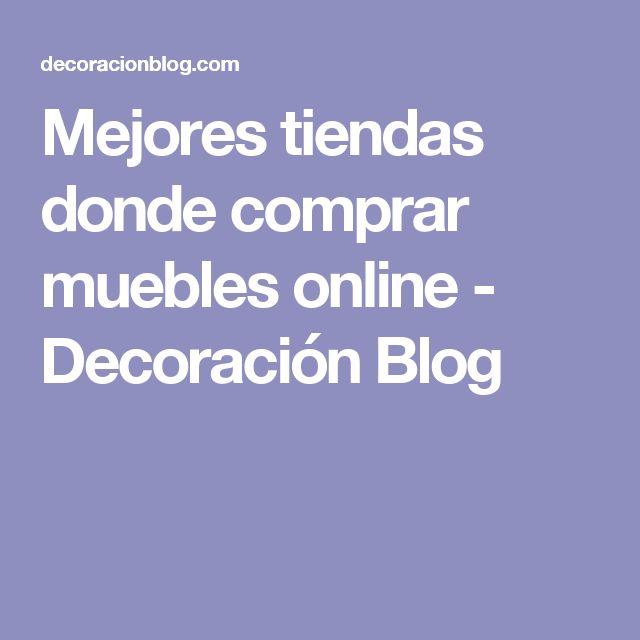 Mejores tiendas donde comprar muebles online - Decoración Blog