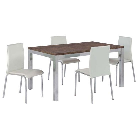 Make your dining room attractive and stylish with danvy for 6 x dining room chairs