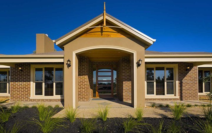 38 best images about metricon homes on pinterest open for New house facade ideas