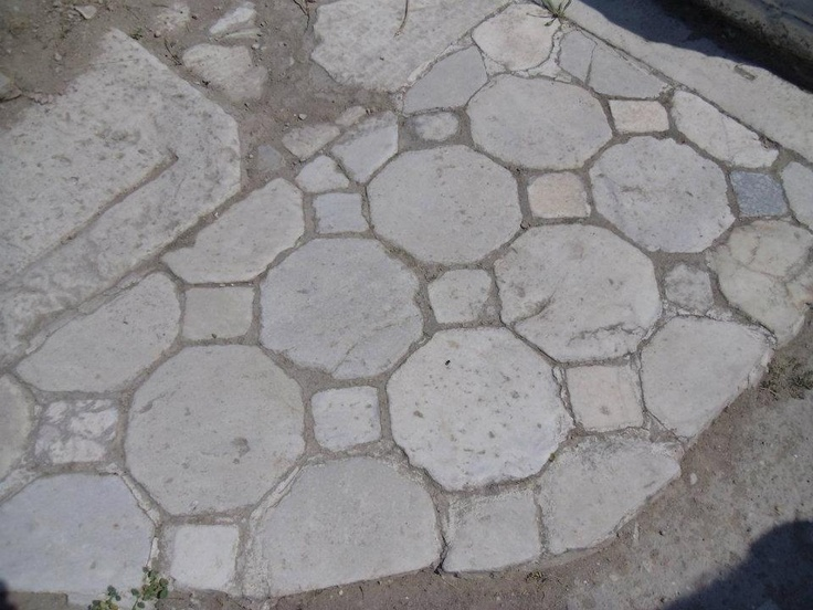 Interesting to see the ancient stone mosaics in Laodikeia...