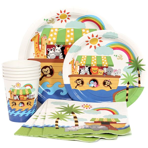 Noah's Ark Express Party Package for 8