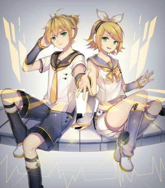 Kagamine Rin & Len.Vocaloid
