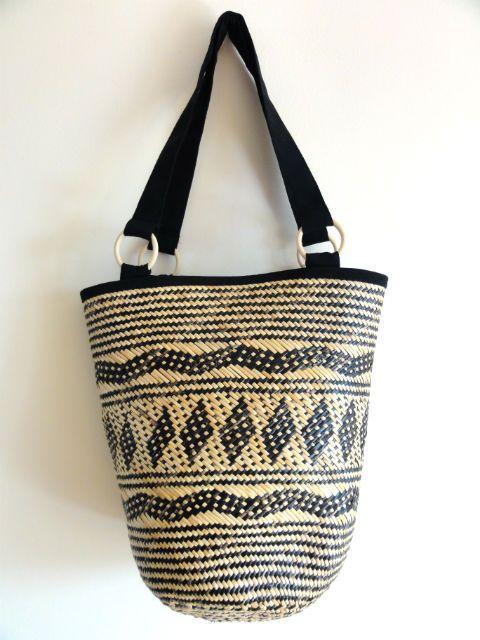 Koszyk torba Stylowa i praktyczna. Bardzo ciekawy etniczny koszyk. Na wiosenno-letnie wyprawy.
