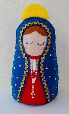 https://flic.kr/p/ekuFyP   Nossa Senhora de Guadalupe   25 cm altura