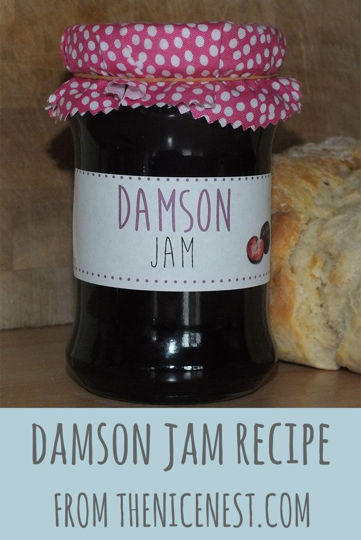Damson Jam Recipe | The Nice Nest