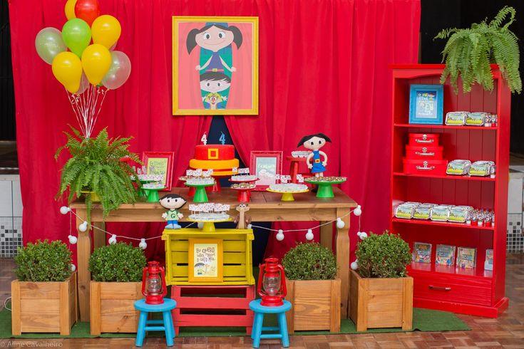 Festa infantil decoração Show da Luna/ Decoration party Show da Luna