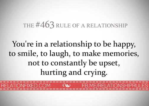 Relationship rule