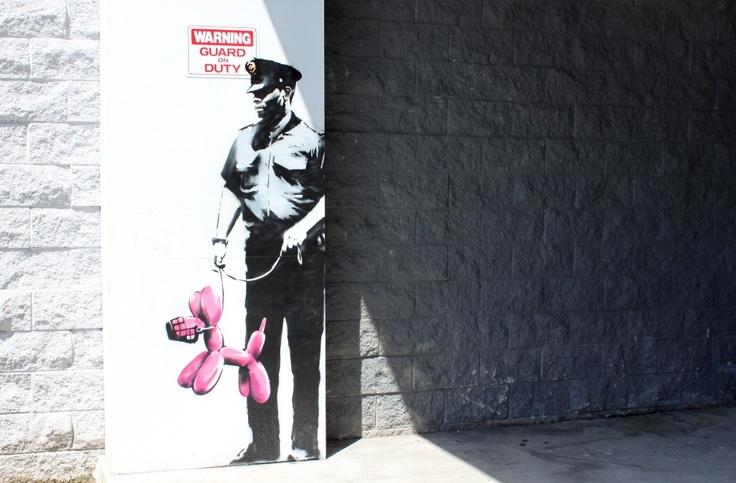 Banksy LA 2010 2 #art