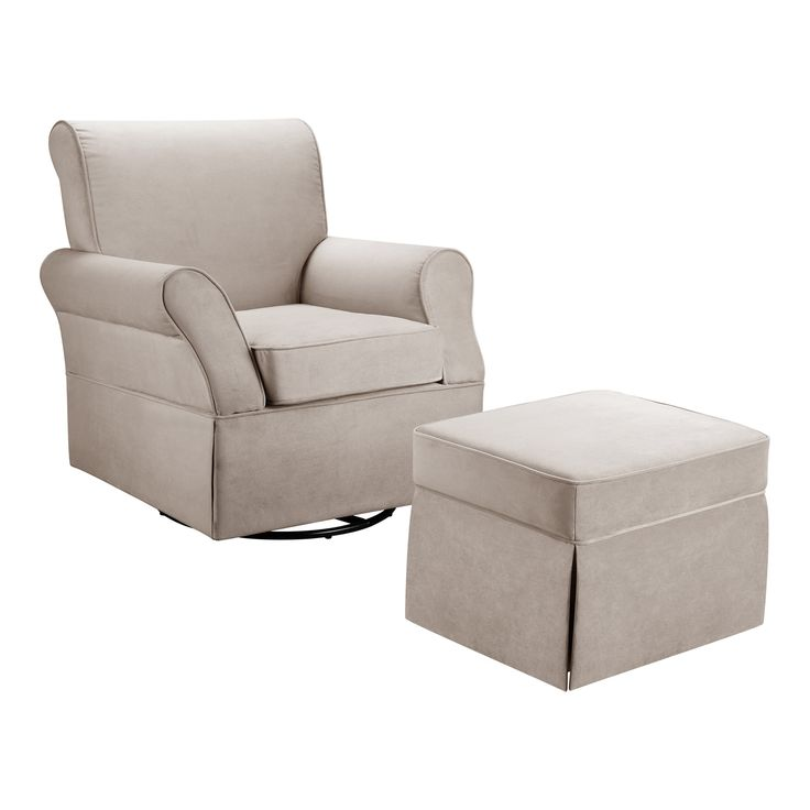 Dorel Kelcie Swivel Glider Chair Amp Ottoman Set Amp Reviews
