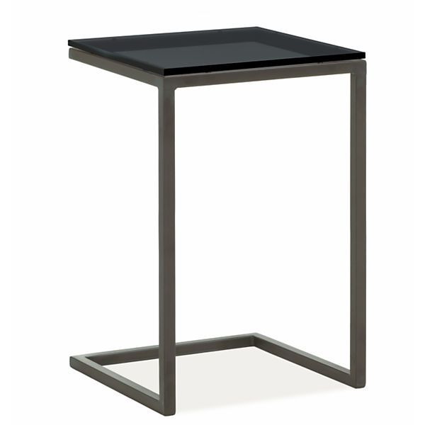 Parsons C Table C Table Modern End Tables Modern Furniture