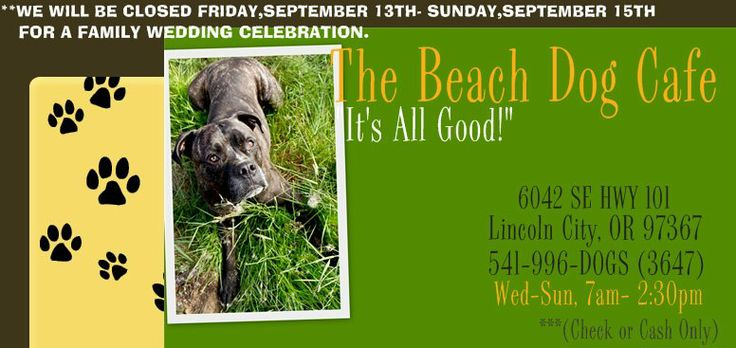 """The Beach Dog Cafe - """"It's All Good!"""" - Lincoln City, OR"""