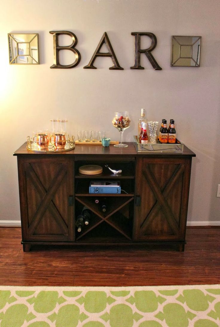 Our Bar Area. Home Bar DecorCheap ...