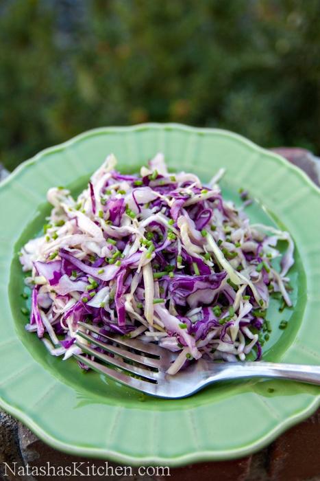 Cabbage and Cucumber Salad Recipe