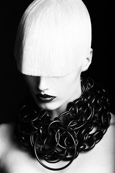 ::: White Portraits, Long Bangs, Blackwhit, Cathrin Nörgaard, Black Whit, Blackandwhit Portraits, Portraits Lesdoitmagazin, Olives Stalman, Dansk 25