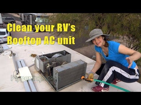 RV Living: Keeping Your Rooftop AC Unit Clean and Functioning - YouTube