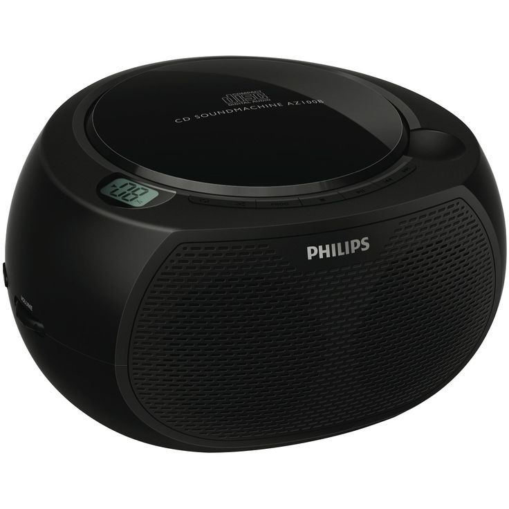 Philips AZ100B Portable CD Player at The Good Guys