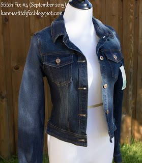 Stitch Fix Stylist: I am interested in a jean jacket, and prefer a darker wash. Of course this is Market & Spruce. I always end up keeping a Market & Spruce piece from every Fix. (Market & Spruce Jada Denim Jacket)  Follow this link to try #StitchFix  https://www.stitchfix.com/referral/4802007