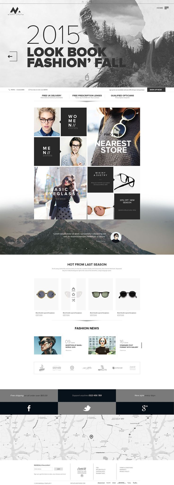 Awesome Website Design - Fashion Store