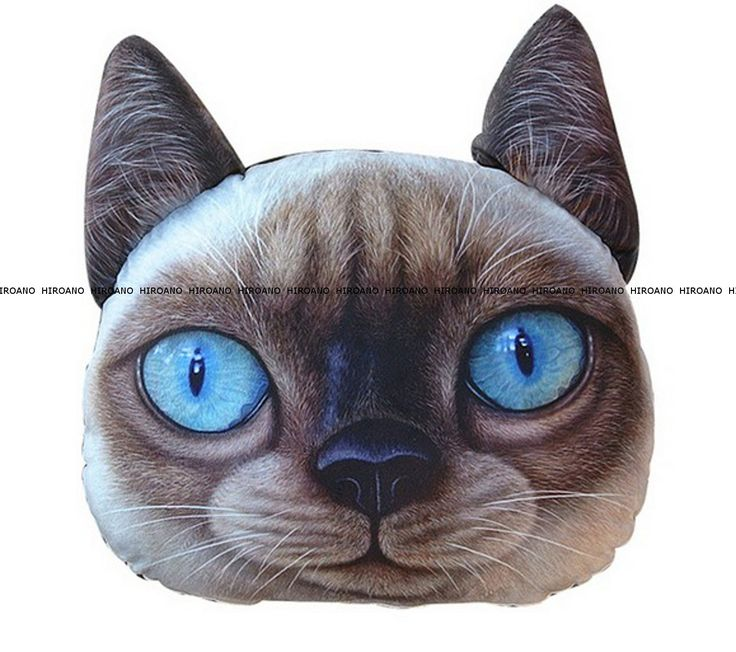 Amazon.co.jp: HIROANO 大きい リアル かわいい ふっくら 犬顔 猫顔 犬 猫 クッション ぬいぐるみ 抱き枕 ハンドタオル付きモデル (ブリティッシュショートヘア): スポーツ&アウトドア