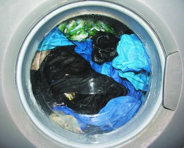 How to use hydrogen peroxide to replace chlorine bleach in laundry. Use to whiten whites, brighten clothes, remove odors and sanitize the washer.: Brighten Colored Clothes With Hydrogen Peroxide
