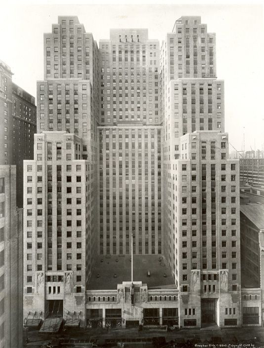 Graybar building new york art deco pinterest new for Deco new york