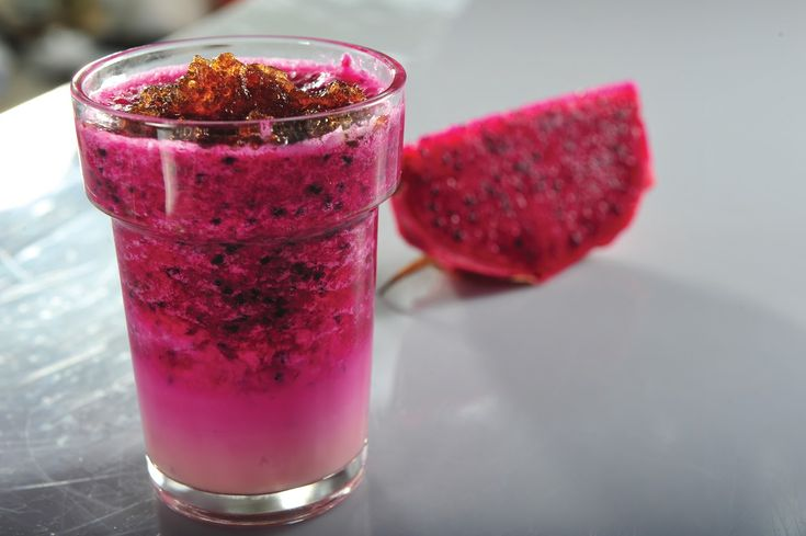 How To Make Juice Of Red Dragon Fruit