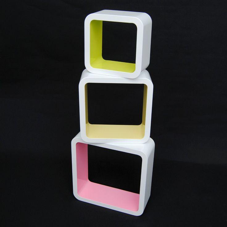 17 meilleures id es propos de tag res cubiques sur for Meuble mural cube