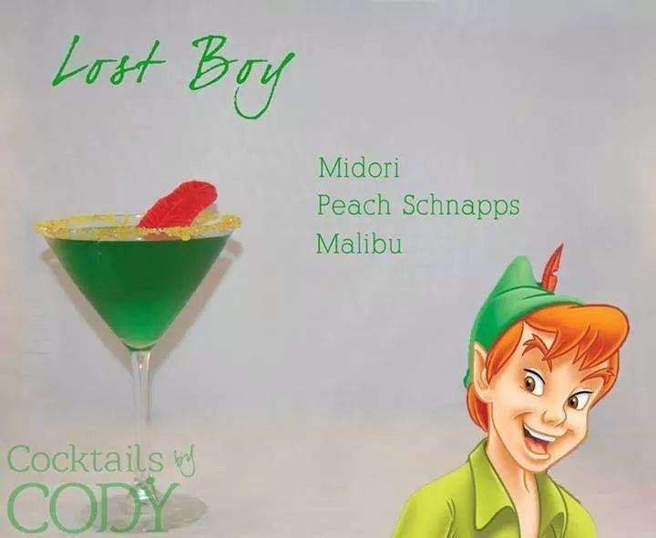 Disney Mixed Drinks