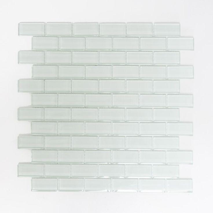 KRISTALLMOSAIK BRICK VIT 5X2,5CM 8MM - Kristallmosaik - Mosaik - Kakel & Klinker - Golv & Kakel