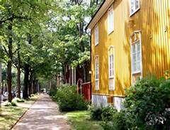 Wooden Vallila, Helsinki Finland