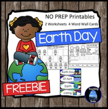 Earth Day Freebie has a scrambled sentence and a counting activity as well as four word wall cards just for Earth Day!This freebie is a sample of my Earth Day Pack, available here:   Earth DayYou may also like: Spring Reading ComprehensionWinter Reading Comprehension NEW Read Pick Flip Comprehension CardsSight Words - Search the Winter Kids and CrittersWinter Thinking TreksFall Reading ComprehensionChristmas Reading ComprehensionFall for Kinder KidsSight Words Search the BugsThe Ocean for…