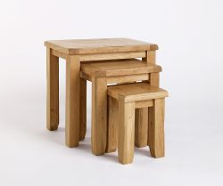 Our best Westbury Reclaimed Oak Nest of Tables range offers a brilliant blend of classical styling and substantial highly build quality within an affordable price. For more info go through our website http://solidwoodfurniture.co/product-details-oak-furnitures-2464-westbury-reclaimed-oak-nest-of-tables.html