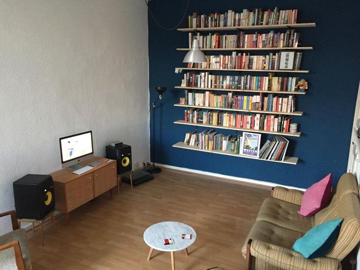 die besten 25 b cherregal organisation ideen auf pinterest b cheregal gestaltung b cherregal. Black Bedroom Furniture Sets. Home Design Ideas