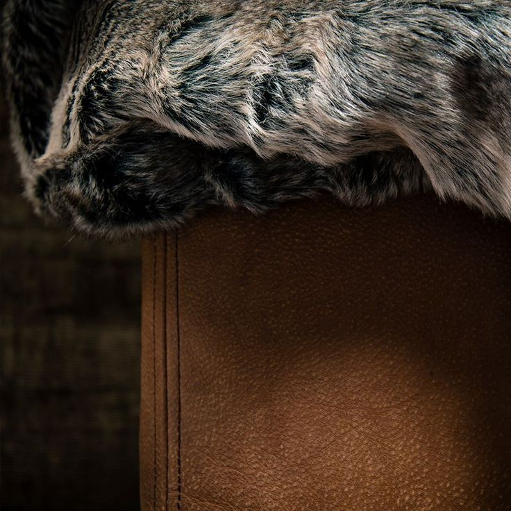 Leather & Faux Fur