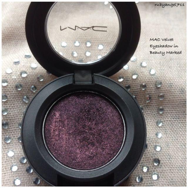 MAC Beauty Marked Velvet Eyeshadow