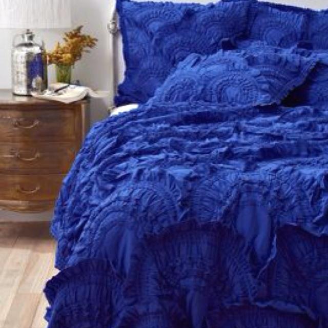 Cobalt Blue Bedding Blue Bedding Home Bedroom Bed