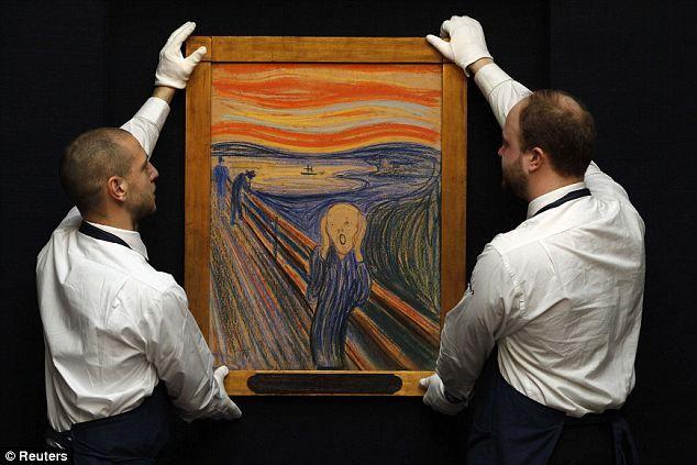 'O Grito' é a pintura mais cara vendida em leilão