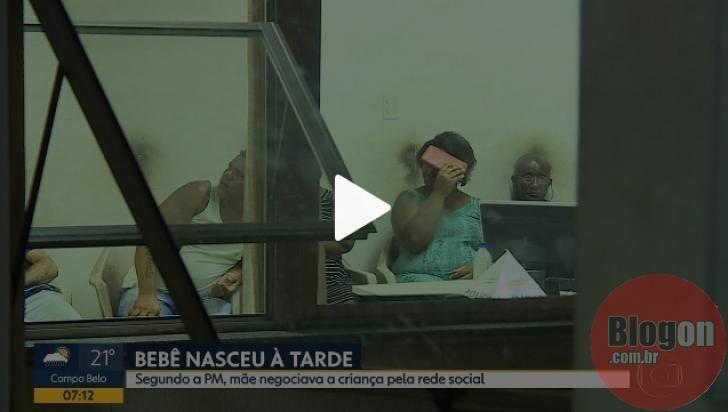 Mulher E Presa Em Contagem Suspeita De Tentar Vender Bebe Diz