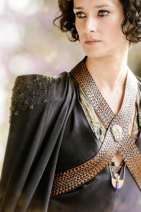 "Ellaria Sand is the beloved paramour of Prince Oberyn Martell, and the mother of the four youngest ""Sand Snakes,"" Oberyn's bastard daughters. Ellaria herself is the bastard daughter of Lord Harmen Uller, a nobleman of Dorne. Ellaria is referred to as worshiping a Lysene love goddess, and was also described by Oberyn as being sexually adventurous and potentially bisexual."