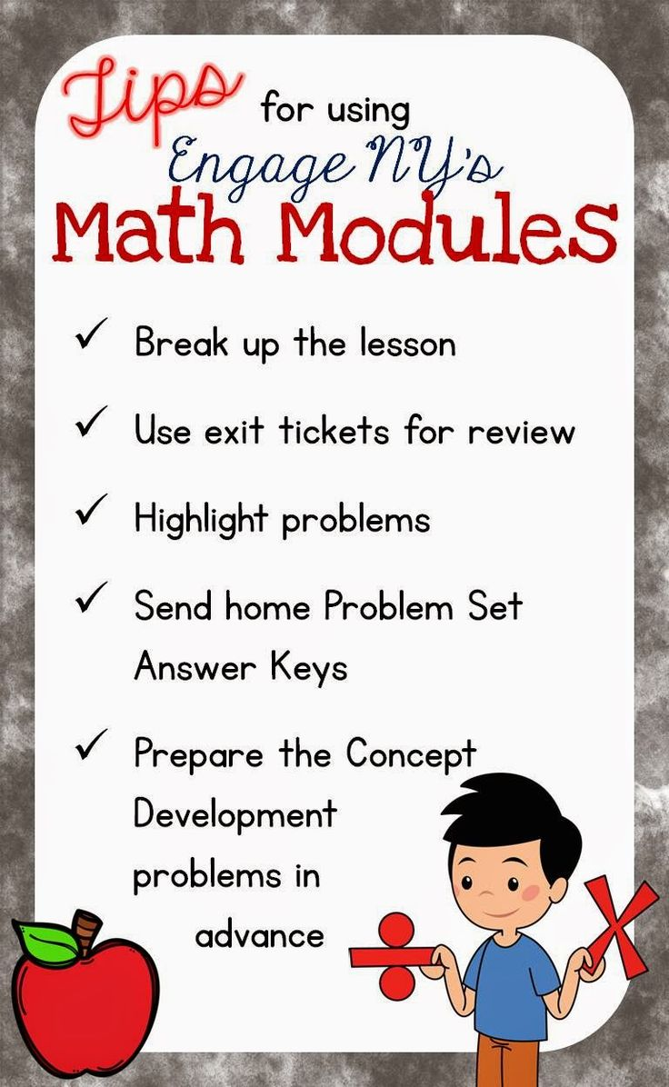 Tips for Using Engage NY's Math Modules