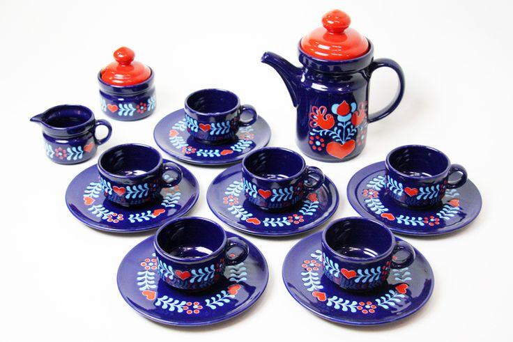 15tlg. Kaffeeservice aus den 70er Jahren von DECORATIVE ART GALLERY auf DaWanda.com