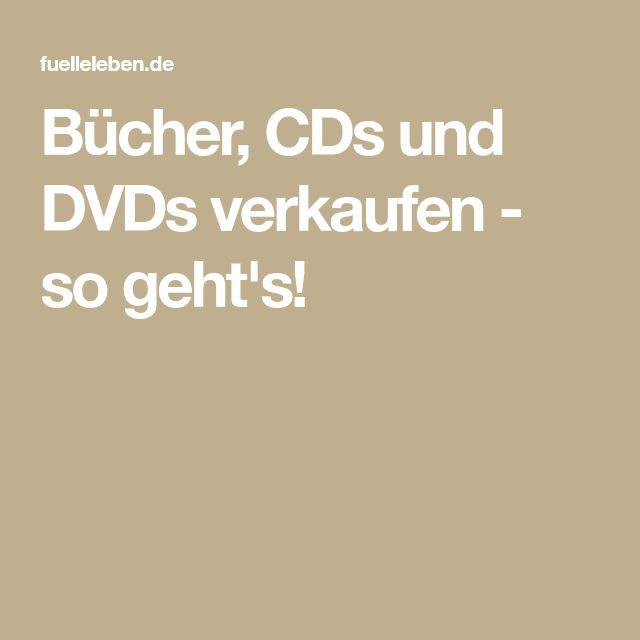 Bücher, CDs und DVDs verkaufen - so geht's!