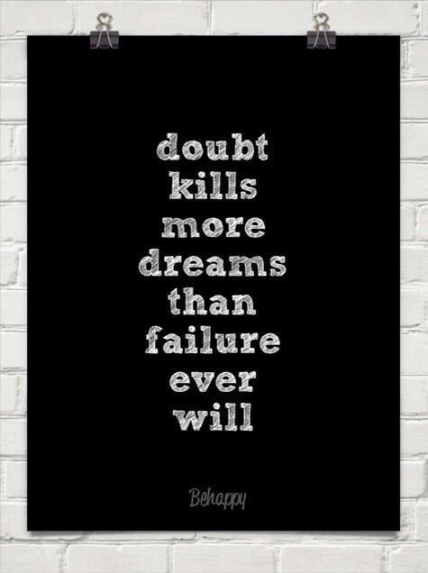 Doubt v. Failure
