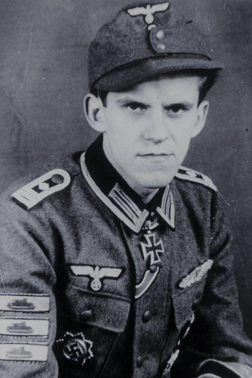 Oberfeldwebel Hanns Hönscheid (1922-2001), Kriegsbereichterstatter der  Fallschirmtruppe, Ritterkreuz 12.03.1945
